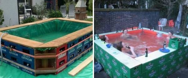 Сделай сам для дома бассейн своими руками 972