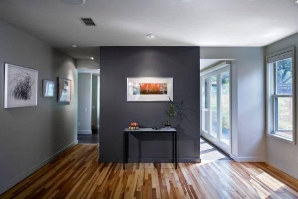 Покраска стен в квартире в серый цвет