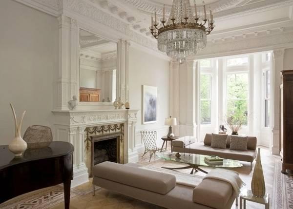 Лепной декор из пенопласта в классическом стиле