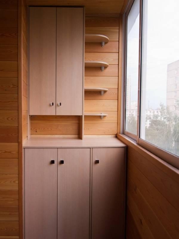 Мебель для балкона складная, встроенная, готовая 44