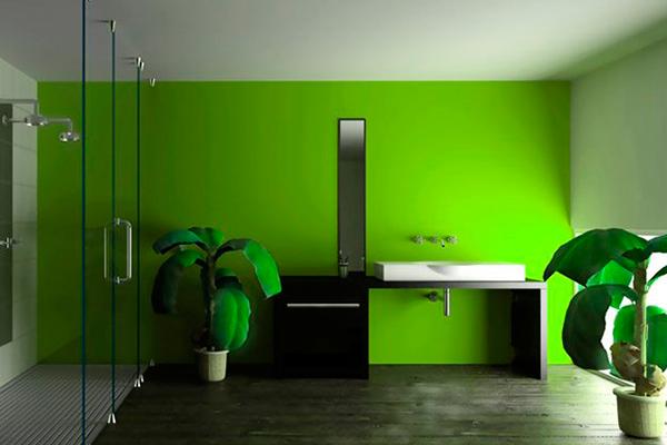 Силиконовая покраска стен в квартире - дизайн фото гостиной