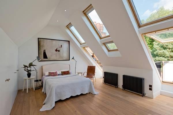 Современный дизайн спальни в скандинавском стиле