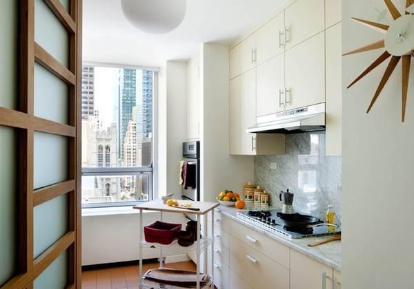 Дизайн малогабаритной кухни 6 кв м - фото без столовой зоны