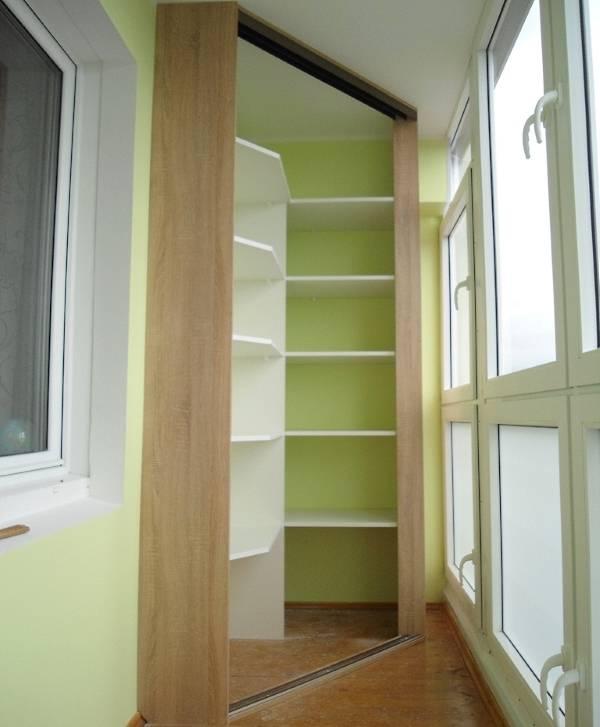 удобный и красивый шкаф на балкон 40 фото разных моделей