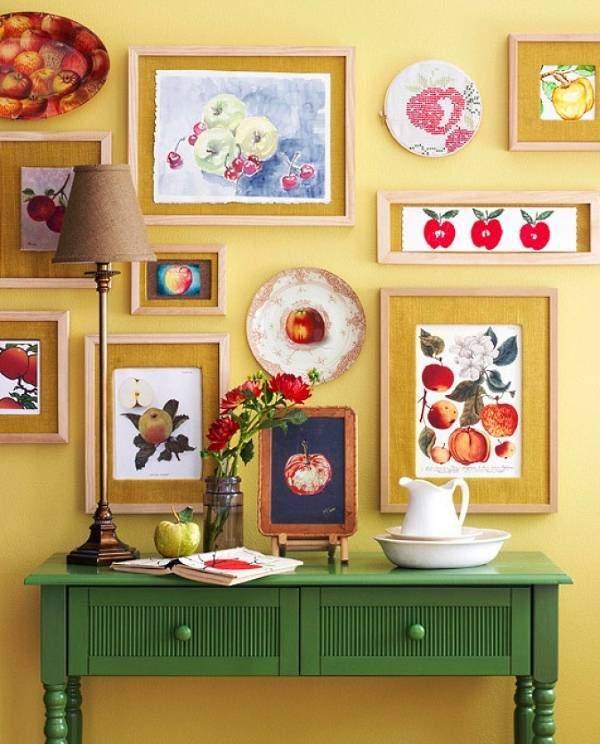 40+ идей как украсить стену в комнате своими руками