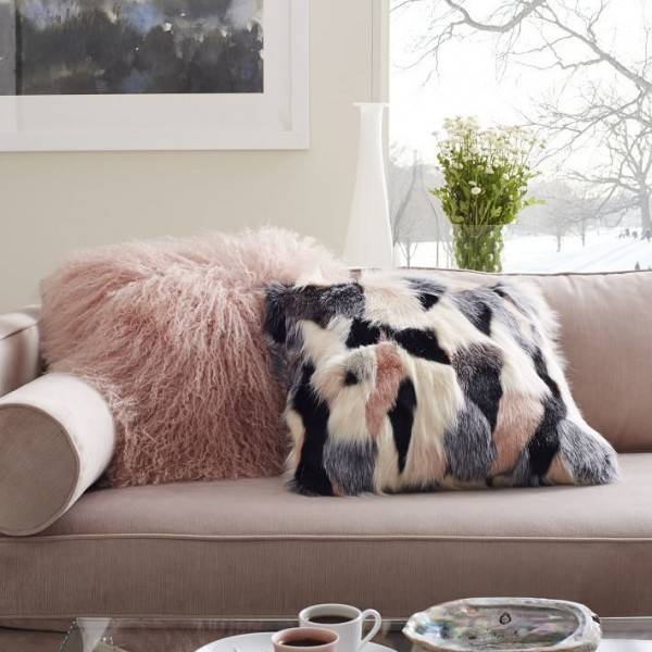 Интерьерные и мебельные ткани - фото дивана