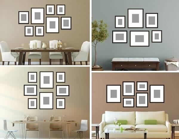 Как украсить стену фотографиями своими руками