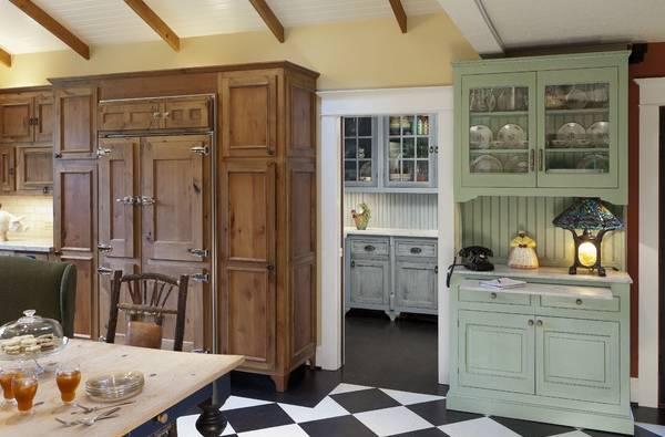 Красивые кухонные буфеты - фото в интерьере