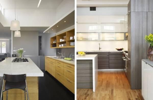 Дизайн кухни серого цвета в интерьере - подборка фото