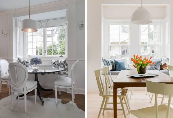 Потрясающие кухни с эркерным окном - топ-идеи дизайна 2016