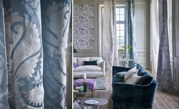 Красивые ткани для интерьера - коллекция Majella 2016 от Designers Guild