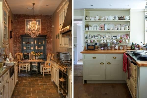 Современные кухни с буфетом - дизайн фото