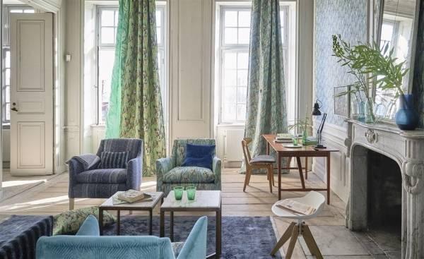 Модные ткани для штор, мебели и ковров 2016 от Designers Guild
