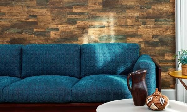 Яркий цвет обивки дивана - ткань из коллекции 2016 года Elitis