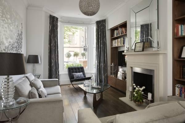 Красивая планировка гостиной - фото с эркером