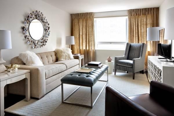 Как расставить мебель в зале маленькой квартиры