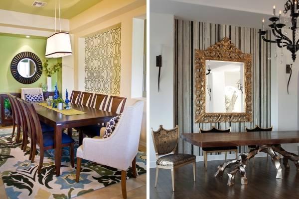 Лучшие идеи комбинирования обоев + 45 фото гостиных