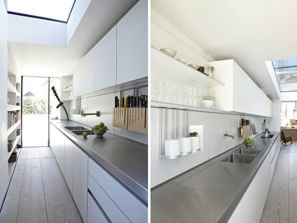 Навесные аксессуары для кухни на рейлинги - подставки под ножи