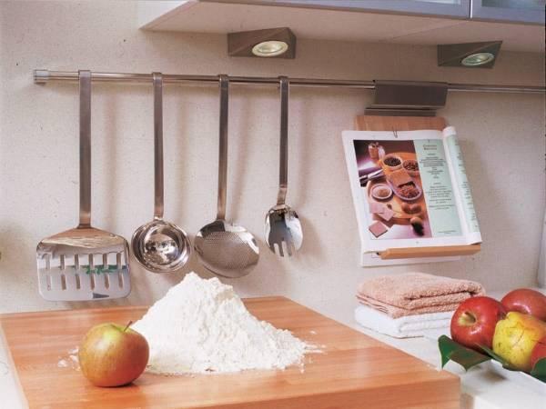 Аксессуары для кухни рейлинги и навесное оборудование - 25 фото