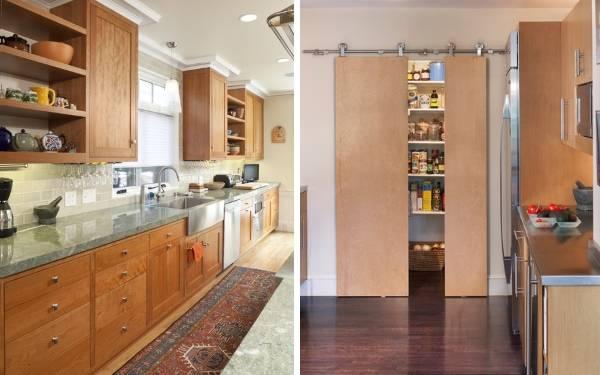 Каменная ступка с пестиком в дизайне кухни