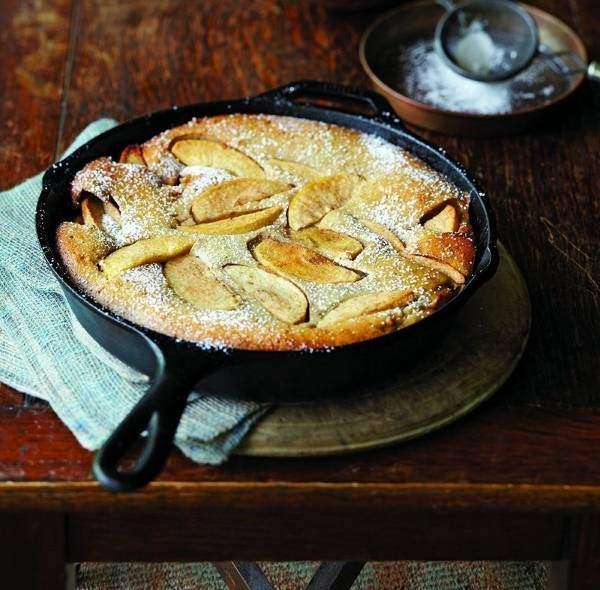 Чугунная сковорода для блинчиков и пирогов