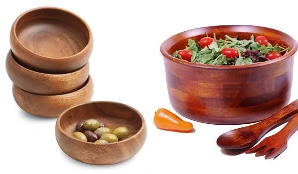 Экологичная кухонная утварь из дерева