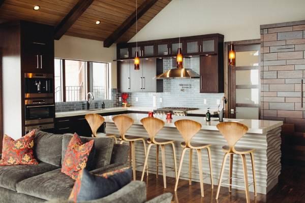 Самые красивые и стильные кухни - фото в интерьере
