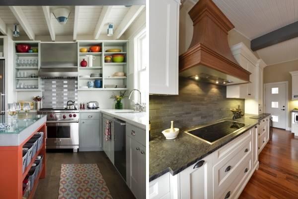 Кухонная утварь из керамики в дизайне кухни