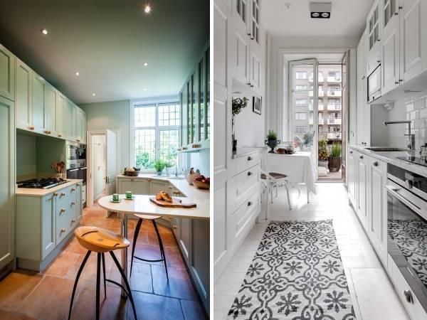 Стильный дизайн кухни - идеи для маленькой площади