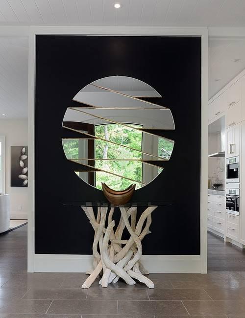 Стильные современные зеркала в прихожую - 30 фото
