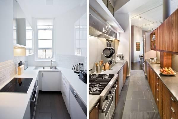 Деревянная кухонная утварь в интерьере - подставка под принадлежности