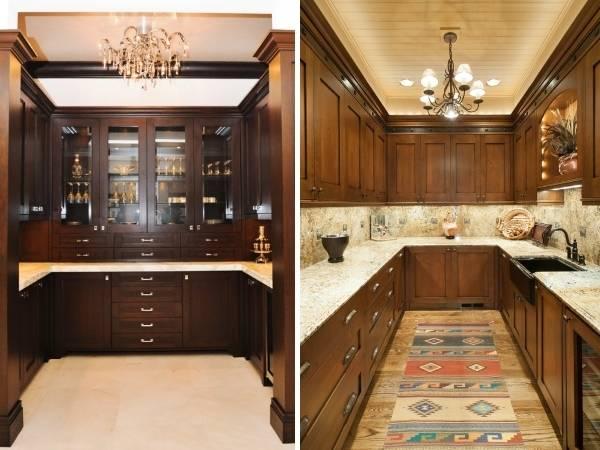Лучший дизайн маленькой кухни - фото в классическом стиле
