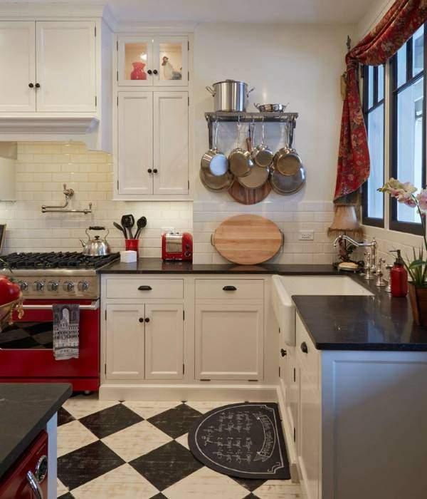 Алюминиевые аксессуары для кухни - рейлинги и навесное оборудование