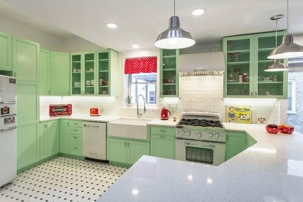 Интересные идеи для кухни - фото декора в стиле ретро