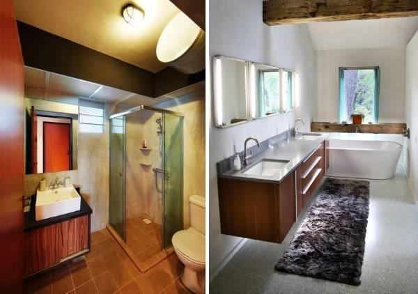 Какой должна быть ванная в стиле лофт - мебель, освещение и прочее