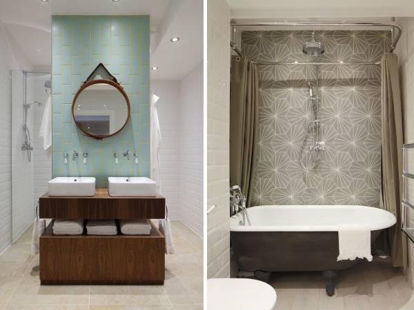 Как создать стиль лофт в интерьере ванной с плиткой
