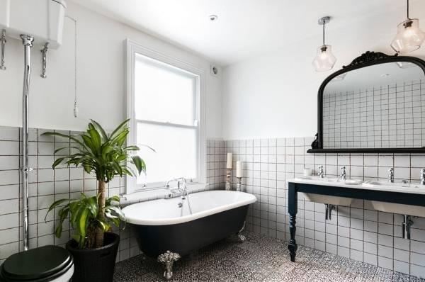 Ванная комната в стиле лофт и индастриал