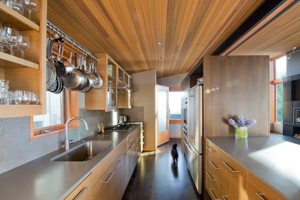 Простые навесные аксессуары для кухни на рейлинги