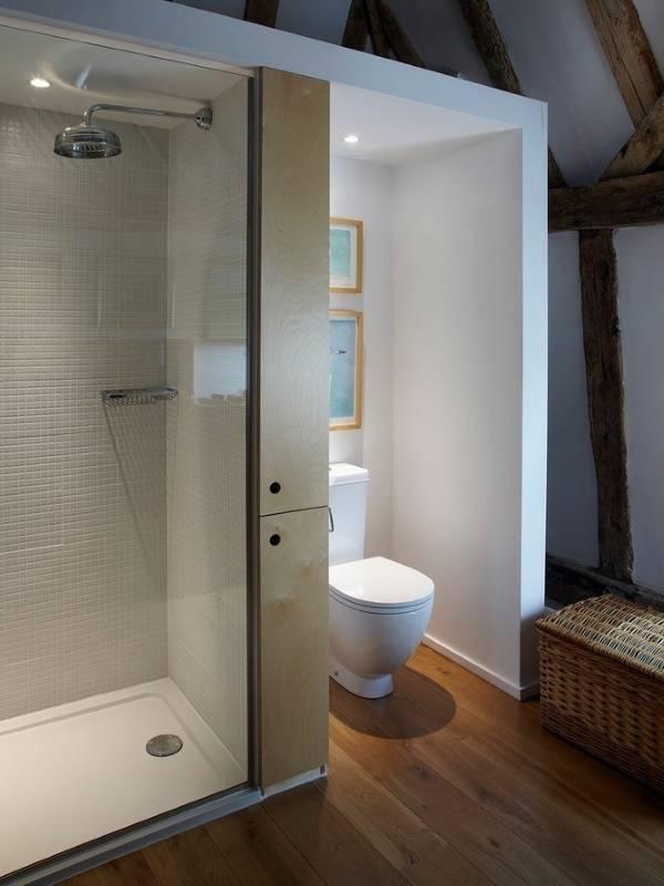 Необычная ванная комната - дизайн фото санузел совмещенный