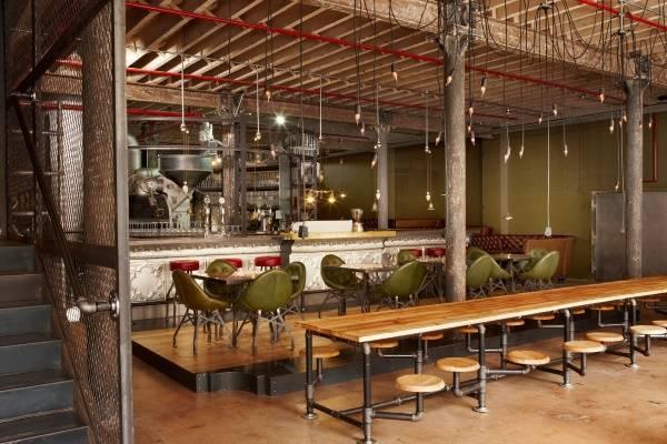 Модное оформление кафе - дизайн в стиле стимпанк
