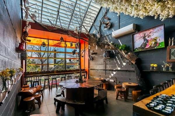 Дизайн кафе и ресторанов в восточном японском стиле