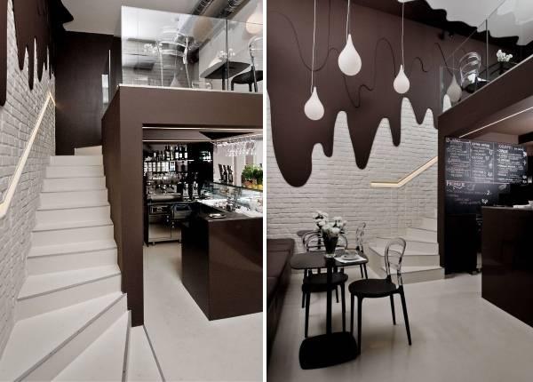 Дизайн кафе бара