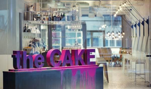 Дизайн украинского кафе - фото вывески и входа