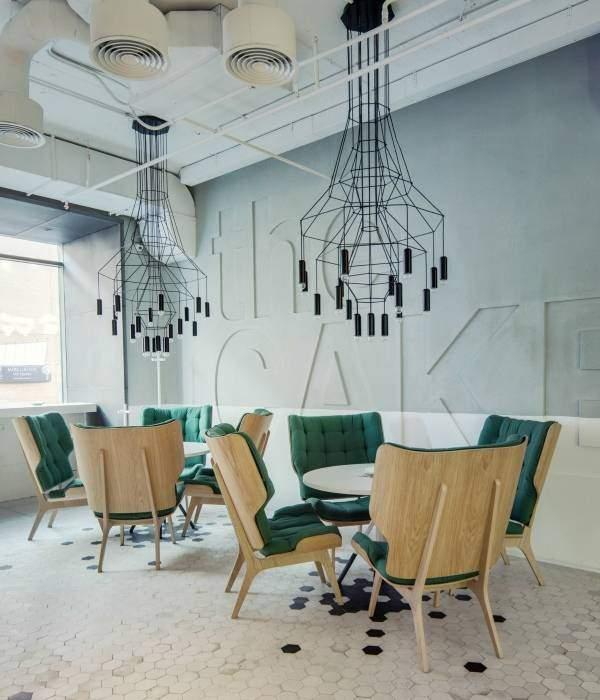 Лучшие современные идеи для дизайна кафе баров ресторанов