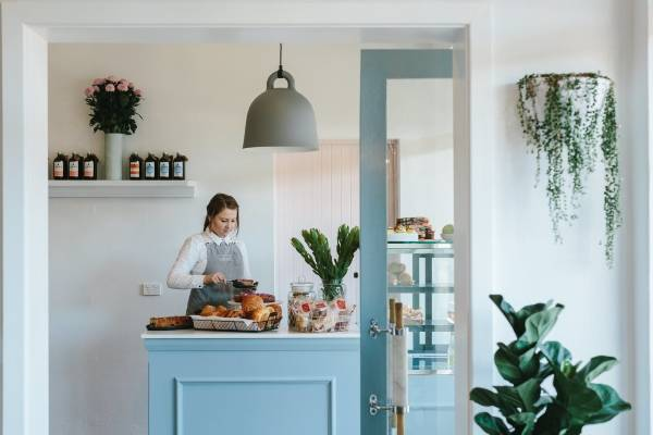 Дизайн маленького кафе в стиле прованс – Highlands Merchant