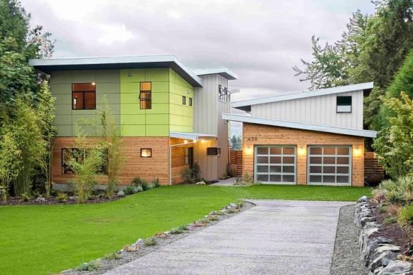 Современные дома хай тек с плоской крышей
