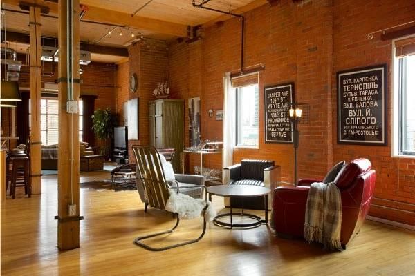 Модные стили интерьера - дизайн квартиры в стиле лофт