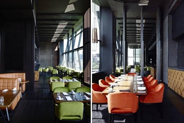 Дизайн интерьера в ресторане Dinner by Heston Blumenthal