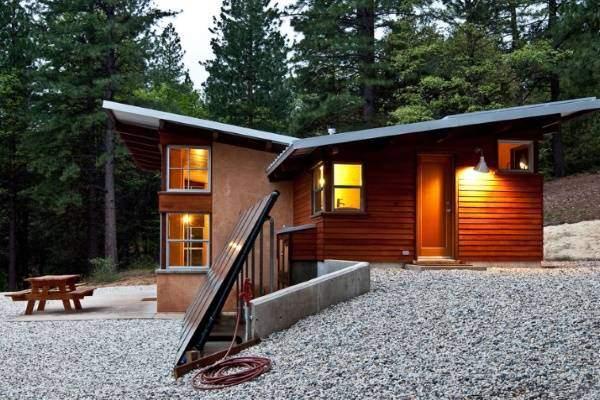 Каркасные дома в стиле хай тек из сип-панелей