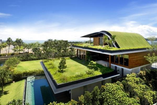 Красивые дома в стиле хай тек и эко